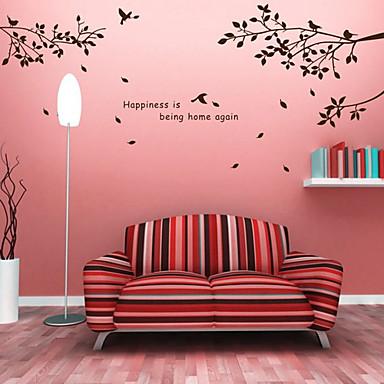 Abstracto bot nico pegatinas de pared calcoman as de - Calcomanias para paredes ...