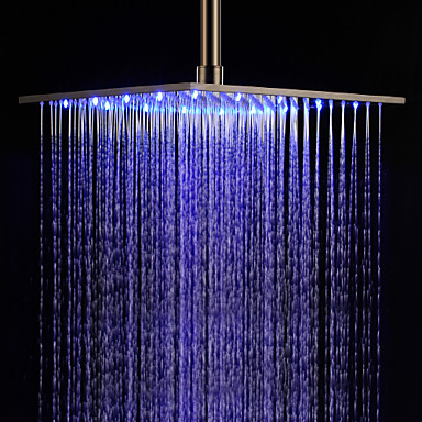 Contemporary Rain Shower Brushed Feature For Led Rainfall Head 172072 2018 119 99