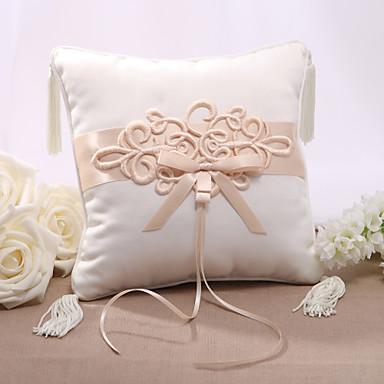 Bowknot Satin Ring Pillow Asian Theme 502524 2018 – $8.09