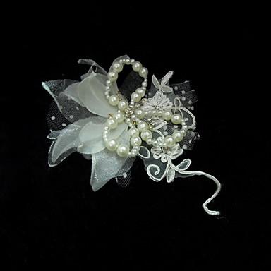 povoljno Party pokrivala za glavu-modni satena s Pearl ženskih fascinators