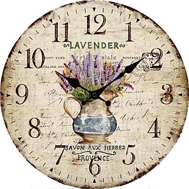 Modern contemporary wood plastic indoor outdoor aa - Relojes de cocina modernos ...