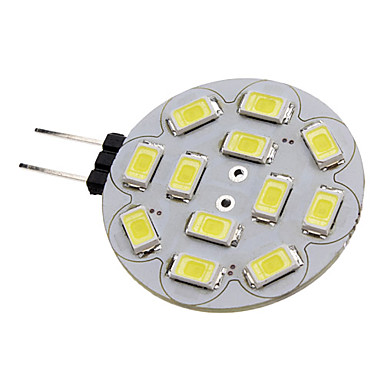 preiswerte LED-Spotleuchten-1.5 W LED Spot Lampen 150-200 lm G4 12 LED-Perlen SMD 5730 Natürliches Weiß 12 V / #