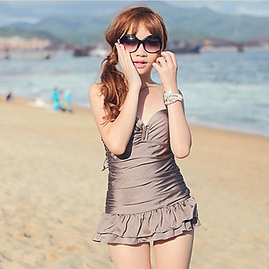 dámská móda slim fit jednodílné plavky Kostice polstrovaný 521128 2019 –   38.49 e57fbb00c9