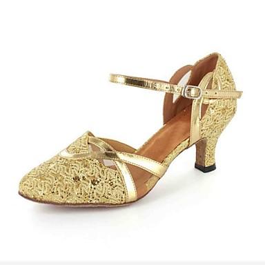 c7a14de5d المرأة في رباط الكاحل مخصصة أقمشة أحذية الرقص اللاتينية / قاعة (ألوان  إضافية) 524105 2019 – $39.99