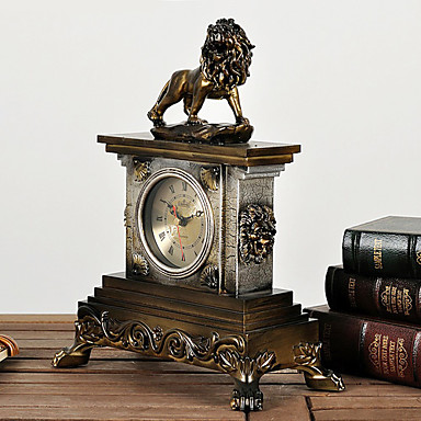 αντίκα λιοντάρι μέταλλο ρολόι τραπέζι 570066 2019 –  67.49 72757dcaab7