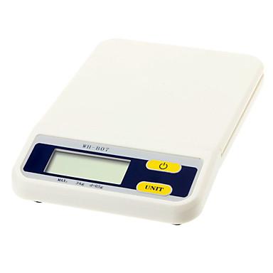87d224e5c [$21.99] 3kg/0.5g Elektronisk kjøkkenvekt (2 AAA)