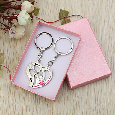 l love you key ring favor set of 6 pairs 600044 2018 2 99