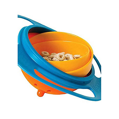cheap Kitchen Utensils & Gadgets-Universal 360 Rotational Kids Training Bowl Children Baby Spill-Proof Bowl Dishes