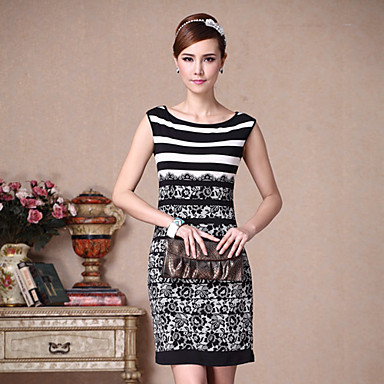 cea4b6cc Diary best Black Fishing Net Cut out Embroidered dish Stitching Dress  579244 2019 – $160.99