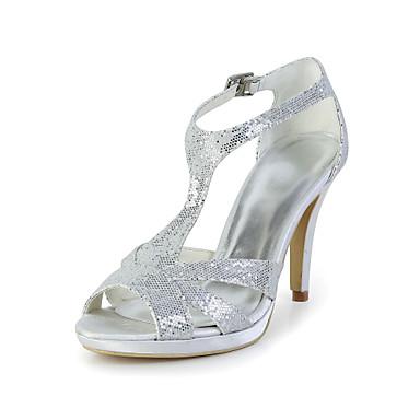 186ecf1eb65b0 Chaussures de mariage - Argent - Habillé - Salomé - Sandales - Homme de  679994 2019 à  34.99