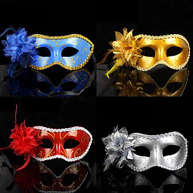 çiçek Deluxe Kenarını Süslemek Patten Boyama Pvc Maske 651086 2019