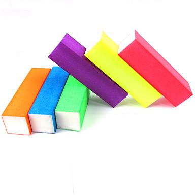 preiswerte Werkzeuge & Ausrüstungen-Schwamm Buffer Block Für Fingernagel Zehennagel Ministil Nagel Kunst Maniküre Pediküre Einfach