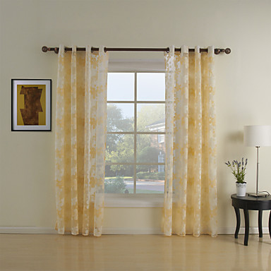Zwei Panele Window Treatment Rustikal Wohnzimmer Polyester Stoff Gardinen Shades Haus Dekoration For Fenster 367324 2017 2249