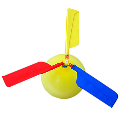 levne Balónky-Lérající gadget Balónky Helikoptéra Helikoptéra Párty Nafukovací Zábavné Plastický Dětské Dospělé Hračky Dárek 1 pcs