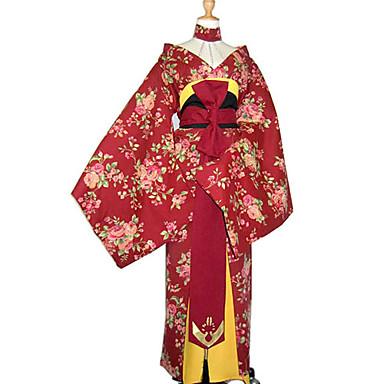 japansk kimono kjønn