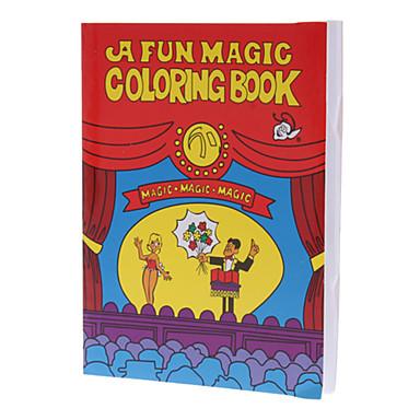 Taraflar Için çocuk Magic Trick Oyuncak Magic Boyama Kitabı 751454