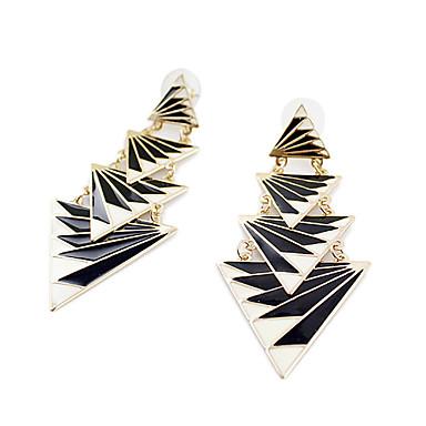 povoljno Modne naušnice-Žene Viseće naušnice Ležerno / za svaki dan Moda Naušnice Jewelry Crn Za Party Dnevno