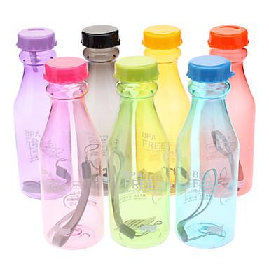 billige Sykkeltilbehør-Sykkel Vannflasker Ikke Giftig BPA Miljøvennlig Til Sykling Vei Sykkel Fjellsykkel Plast Tilfeldige farger