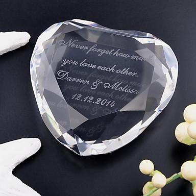 preiswerte Geschenke für Brautjungfern-Krystall Kristall Artikel Braut Bräutigam Hochzeit Jahrestag
