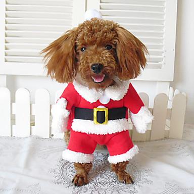 f11a3defcb0907 Psy Kostiumy / Płaszcze / Bandany i kapelusze / Stroje Red Zima Cosplay /  Święta Bożego Narodzenia / Halloween 812881 2019 – $13.25