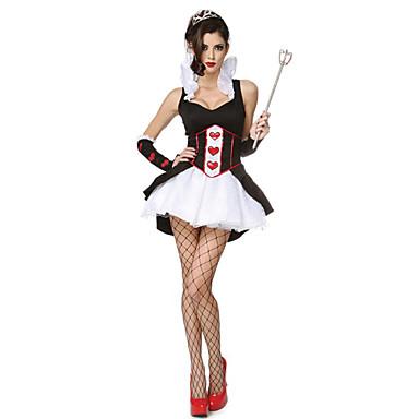 Disfraz de halloween con vestido blanco