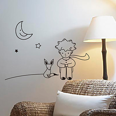 Cartoon The Little Prince Wall Stickers 785429 2018 – $8.99