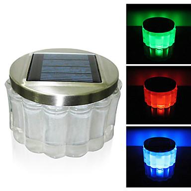 Crystal RGB Color Changing LED Solar Powered Garden Light  Solar Table Light   Solar Small Night Light In Jar Design 790266 2017 U2013 $43.79