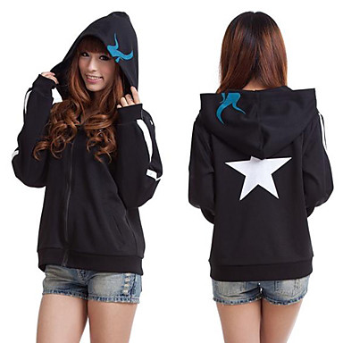 Inspired by Vocaloid Black Rock Shooter Video Game Cosplay ...
