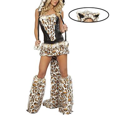 sc 1 st  LightInTheBox & Furry Leopard Wolf Womenu0027s Halloween Costume 849570 2018 u2013 $39.99