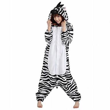pyjama kigurumi z br combinaison pyjamas costume polaire noir blanc cosplay pour adulte pyjamas. Black Bedroom Furniture Sets. Home Design Ideas