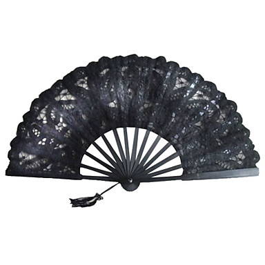 cheap Wedding Favors-Hand Fans Fans and Parasols Ribbons Special Occasion