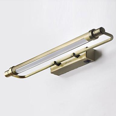 lampe badeværelse LED Pære Inkluderet Badeværelse Væg Lampe, 1 lys, Classic Metal  lampe badeværelse