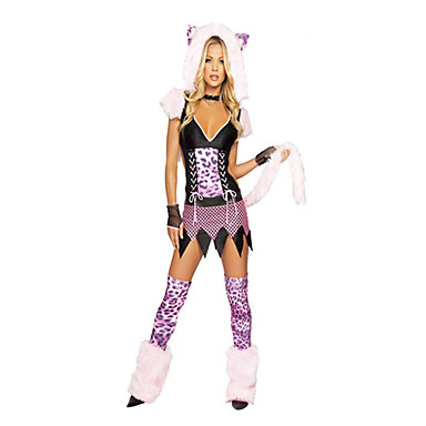 9e77e8a6ca76 Furry Little Bear Pink Leopard Women's Carnival Party Costume 1006289 2019  – $50.99