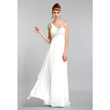 51b78722e213 Dámská půvabná jedno rameno svatební šaty 1008292 2019 –  82.99