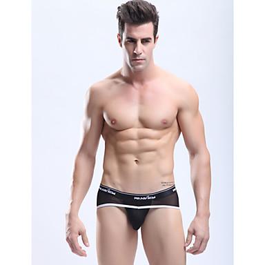 6730ed9ebe7 Manview Pánské Black Sexy Mesh Transparentní Gay kalhotky Spodní prádlo  1033984 2019 –  19.95