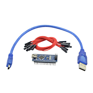 [$10 11] Nano V3 0 AVR ATmega328 P-20AU Module Board & USB Cable for  Arduino (Works with Official Arduino Boards)