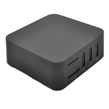 [$75 99] 4 0 4 Android TV Box XBMC Midnight Preinstalled Amlogic 8726 M3  ARM Cortex A9 Internet TV Linux XBMC Optional