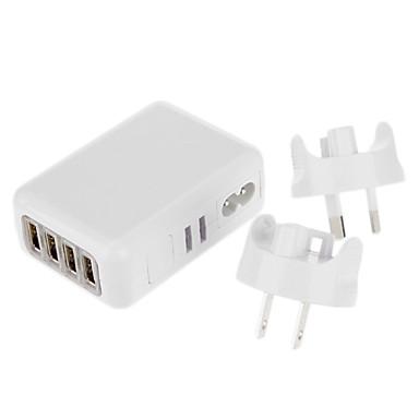 preiswerte Netzadapter & Netzkabel-USB Reise-Ladegerät mit 6 USB-Ports für iphone Samsung Handy