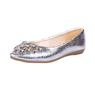 e12b298f0d Δερματίνη Γυναικών Flat Heel μπαλαρίνες Παπούτσια με στρας (Περισσότερα  χρώματα) 1162288 2019 –  12.99