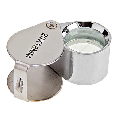 voordelige Microscopen & Endoscopen-20X Juweliers Oog Loep Vergrootglas Vergrootglas
