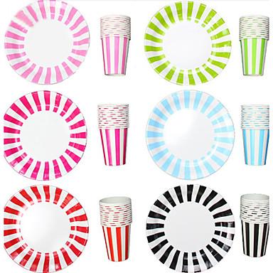 Monouso di carta da tavola della banda bicchieri e piatti for Piatti e bicchieri per feste bambini