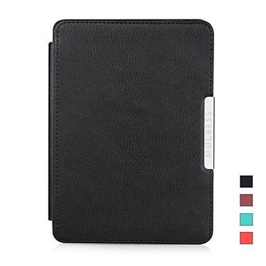 [$16 99] Mulbess Genuine Leather Case Cover for Amazon Kindle Paperwhite 3G  Wifi