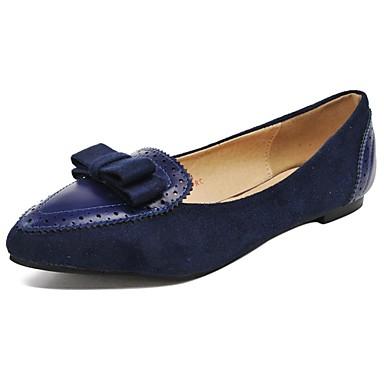Tacón Vestido Mujer Puntiagudos Zapatos Plano Planos De 7PqxfE