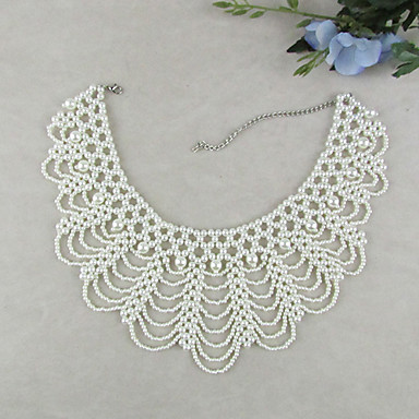 cheap Necklaces-Women's Pearl Collar Necklace Seed Pearls Ladies Elegant Vintage Fashion Pearl Imitation Pearl White Necklace Jewelry 1pc For Wedding Party Special Occasion Birthday Gift Daily