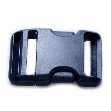 659bc9b48f1 Sangle Clip ceinture plastique côté sortie Boucles 38mm - Noir de 1325805  2019 à  1.99
