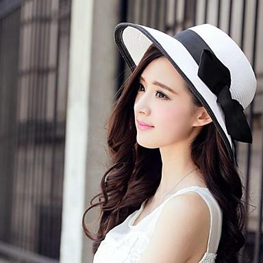 levne Klobouk na party-basketwork papír klobouky headpiece svatební strana elegantní ženský styl