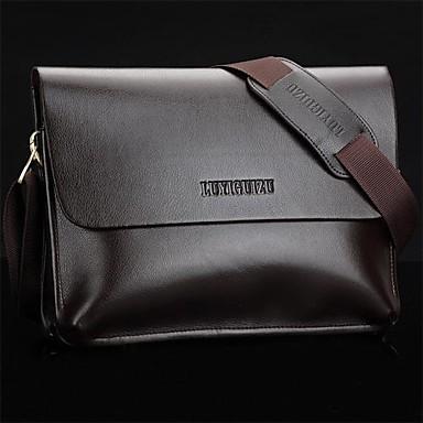 cb096878b4 Férfi valódi bőr táska Messenger Shoulder Táska laptop táska pénztárca  1389359 2019 – $22.99