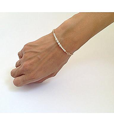 levne Dámské šperky-Dámské Korálkový náramek Korálky Jedinečný design Módní Perly Náramek šperky Zlatá Pro Párty Denní