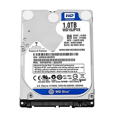 Western Digital WD10JPVX SATA3 1TB 2.5-inch HDD Internal Hard Disk for Notebook 1378921 2019 – $71.99