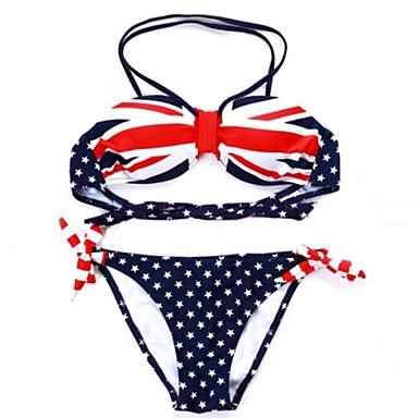 sverige flagga bikini